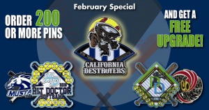 Softball Trading Pin Specials